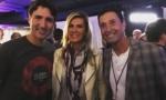 Christine Avanti-Fischer, Jonathon Fischer & Justin Trudeau